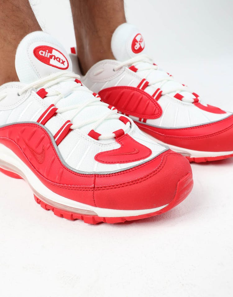 size 40 4ccc5 a08b2 Nike Air Max 98 Red/White