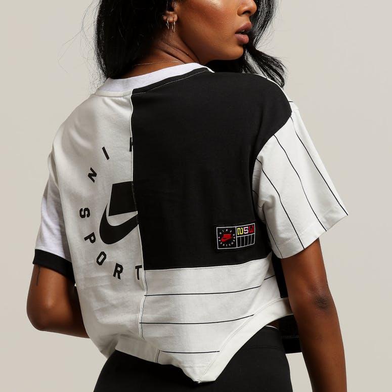 Nike Women s NSW Tee White Black – Culture Kings ab2c610b3