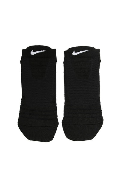 Nike Elite Versatility Low Basketball Sock Black/White