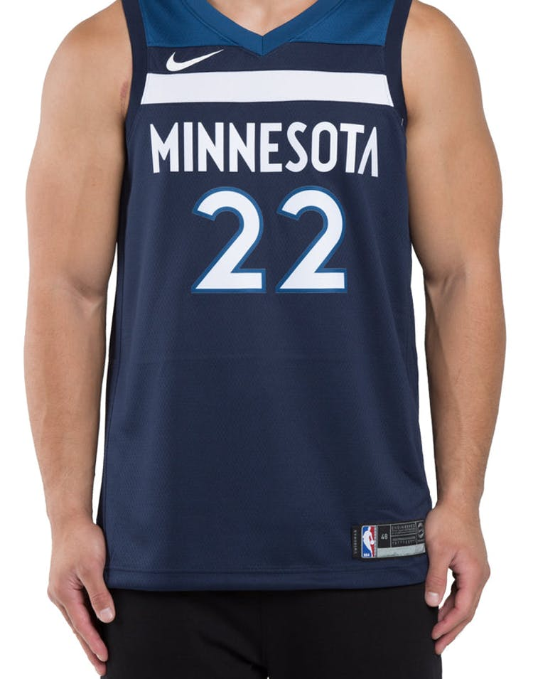 05f8915a222 Andrew Wiggins  22 Minnesota Timberwolves Nike Icon Edition Swingman J –  Culture Kings