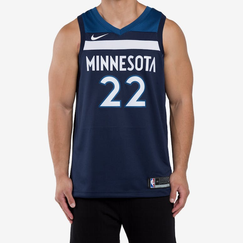 Andrew Wiggins  22 Minnesota Timberwolves Nike Icon Edition Swingman J –  Culture Kings 9d3127a2d