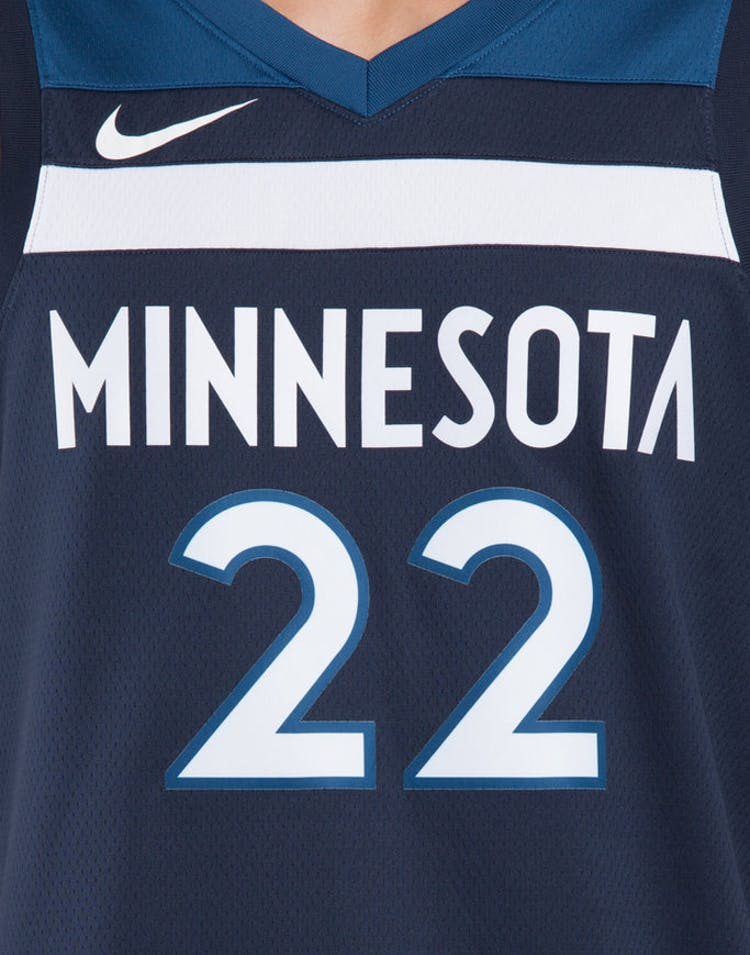 huge selection of 91bf0 03eb4 Andrew Wiggins #22 Minnesota Timberwolves Nike Icon Edition Swingman Jersey  Colour Navy