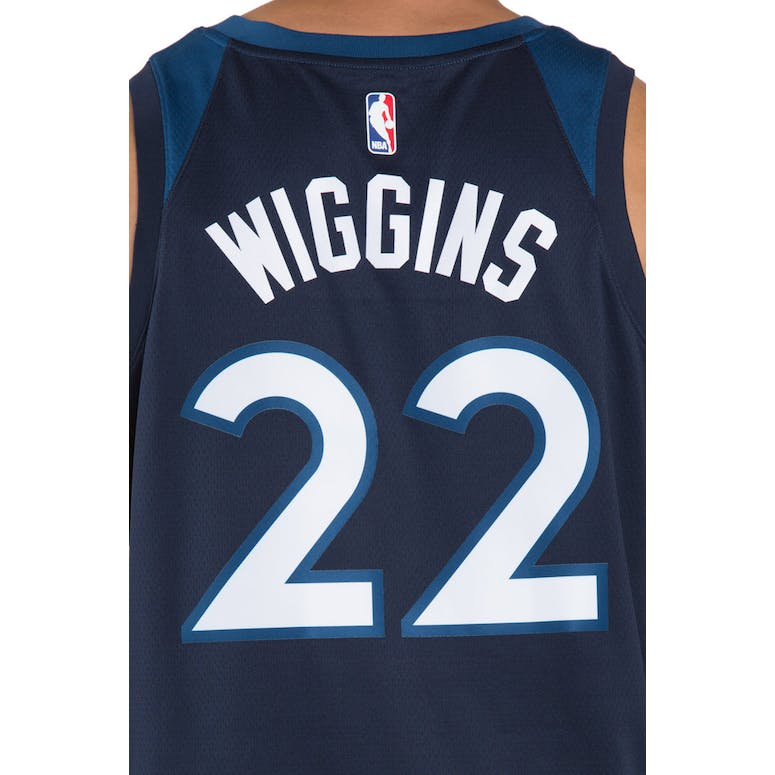 2ee6f2a935f Andrew Wiggins  22 Minnesota Timberwolves Nike Icon Edition Swingman Jersey  Colour Navy