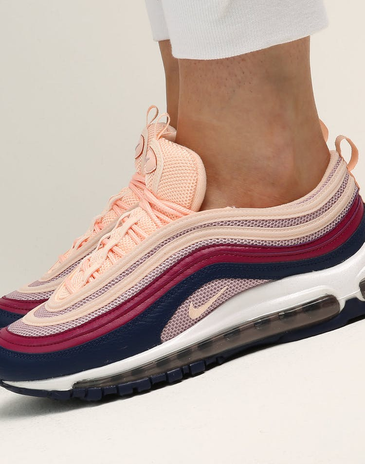 separation shoes 080bf 1c4be Nike Women's Air Max 97 Crimson/Crimson/Pink