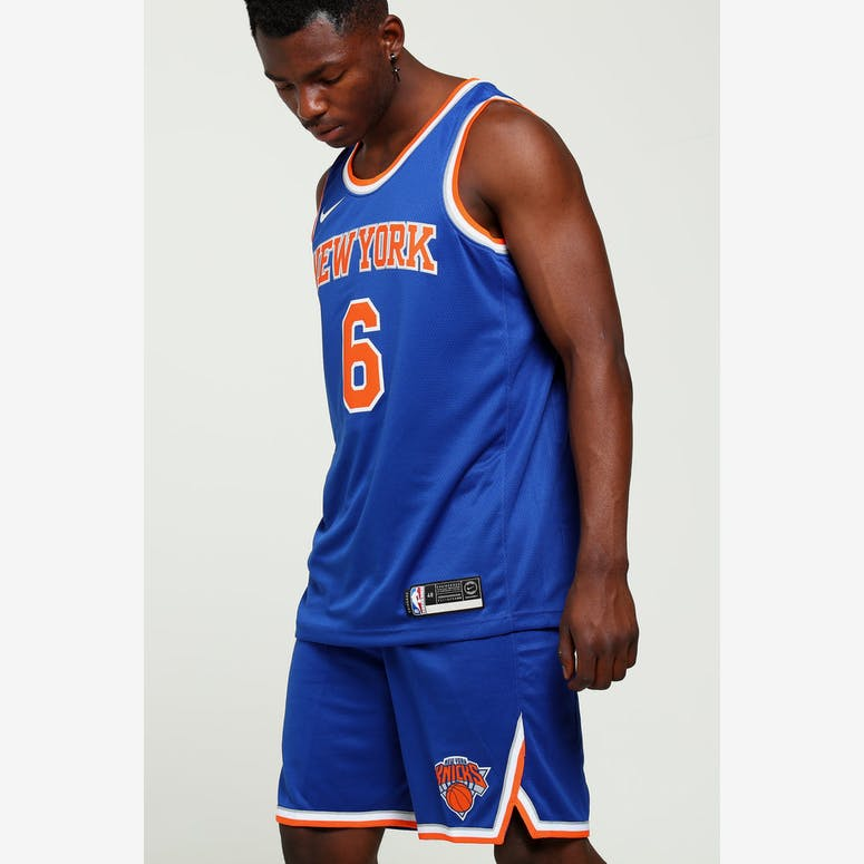 Kristaps Porziņģis  6 New York Knicks Nike Icon Edition Swingman Jerse –  Culture Kings 3e93e0d75