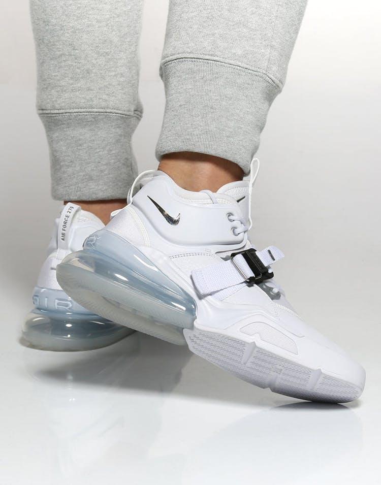 91e93cd629 Nike Air Force 270 White/Silver   AH6772 100 – Culture Kings