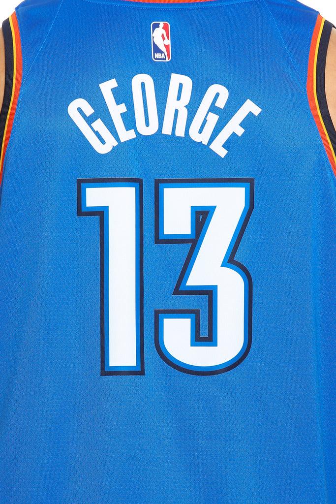 6e309048b0b ... closeout paul george 13 oklahoma city thunder nike icon edition swingman  jersey blue navy 137ff c4f32