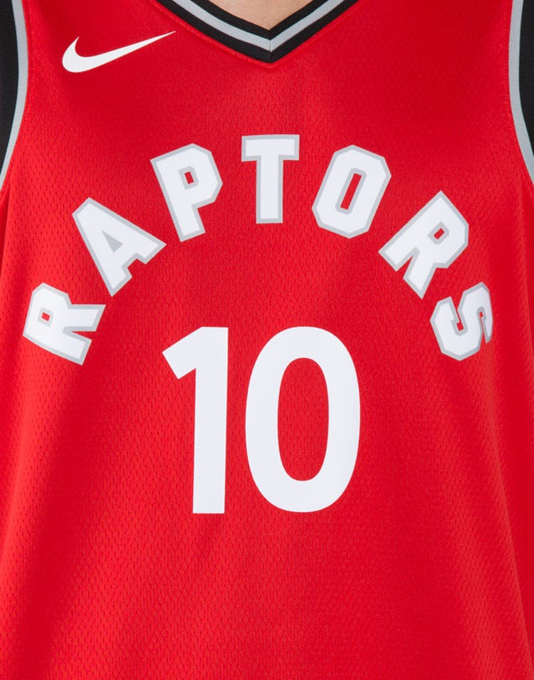 5cdb735f50e DeMar DeRozan #10 Toronto Raptors Nike Icon Edition Swingman Jersey Red /Black
