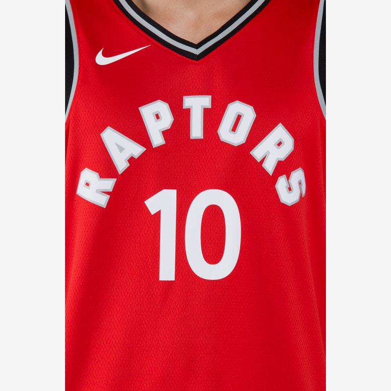 super popular 27f06 a2244 DeMar DeRozan #10 Toronto Raptors Nike Icon Edition Swingman Jersey  Red/Black