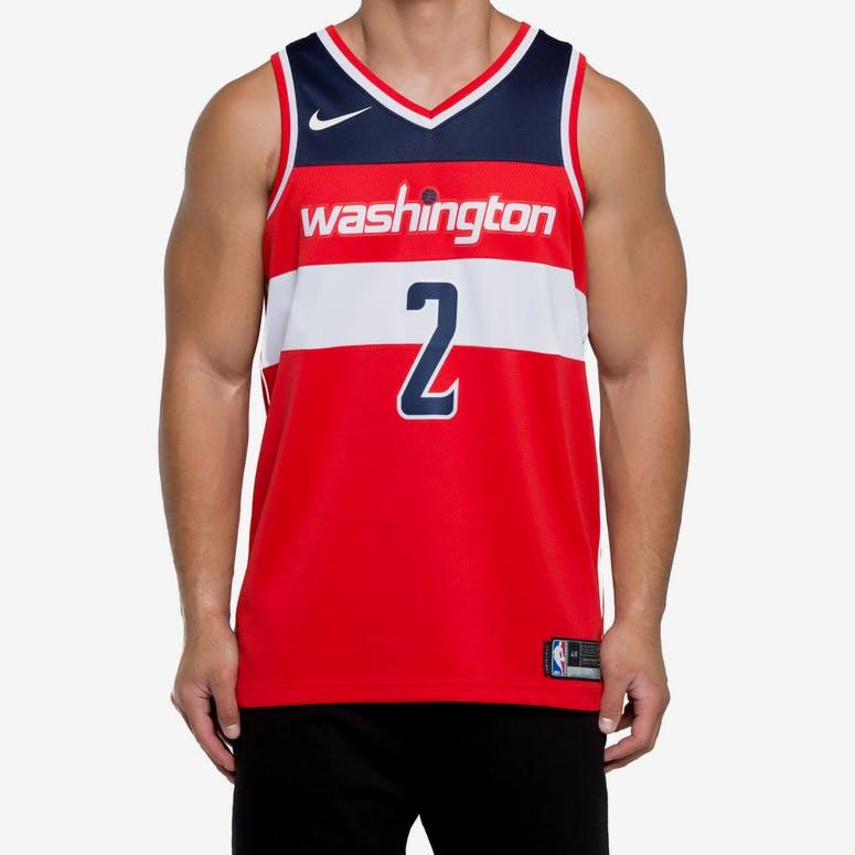 4df400921 John Wall  2 Washington Wizards Nike Icon Edition Swingman Jersey Red  –  Culture Kings