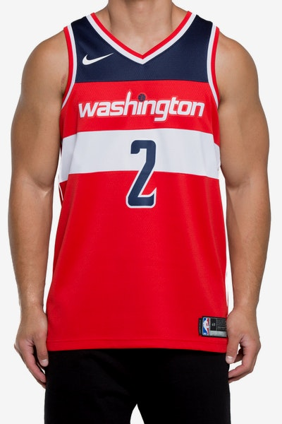 John Wall #2 Washington Wizards Nike Icon Edition Swingman Jersey Red/Navy/White