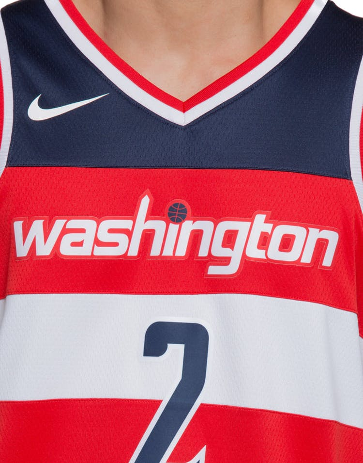 info for 7e5ad 6348f John Wall #2 Washington Wizards Nike Icon Edition Swingman Jersey  Red/Navy/White