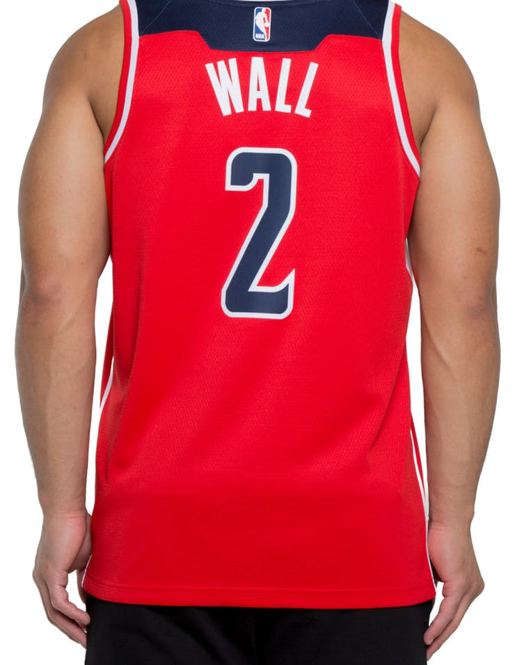 3358a749a43 John Wall #2 Washington Wizards Nike Icon Edition Swingman Jersey  Red/Navy/White