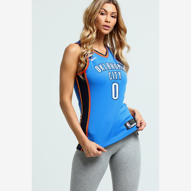Nike Women s Oklahoma City Thunder Russell Westbrook  0 Icon Edition N –  Culture Kings 0f5bf03df