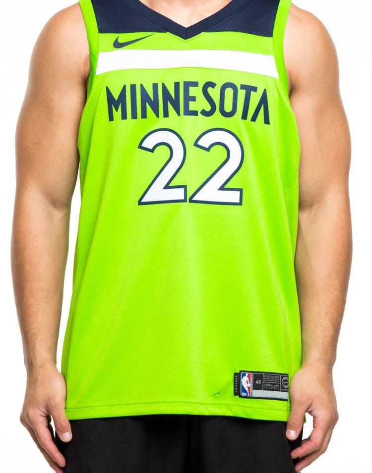 Nike Minnesota Timberwolves 22 Andrew Wiggins Alternate Swingman