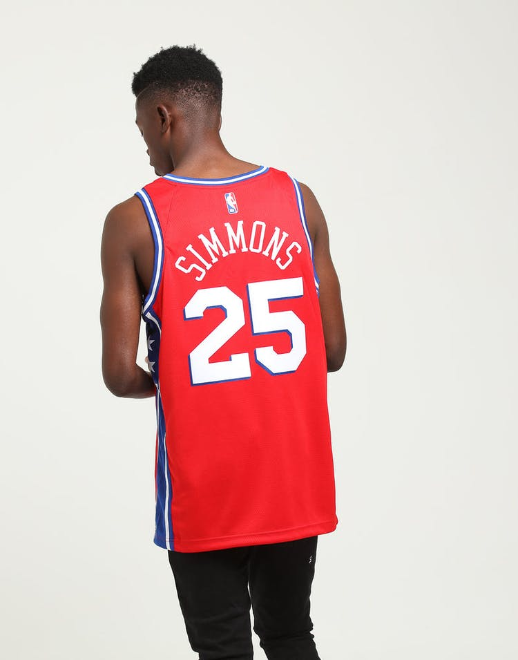 fc1e3afe1 Nike Ben Simmons Statement Swingman Red Blue White – Culture Kings