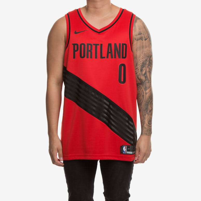 Nike Portland Trailblazers  0 Damian Lillard Alternate Swingman Jersey –  Culture Kings a8442147ee16