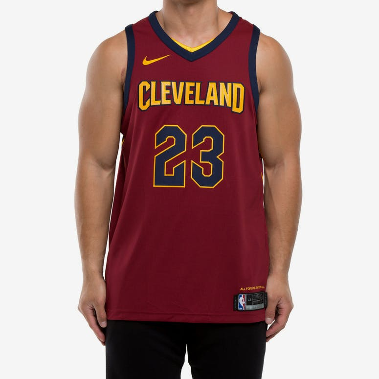Nike LeBron James  23 Cleveland Cavaliers Icon Edition Authentic NBA J –  Culture Kings ee352aa9b6