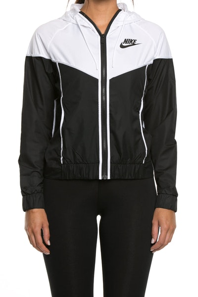 Nike Women's Windrunner Jacket Black/White/Black