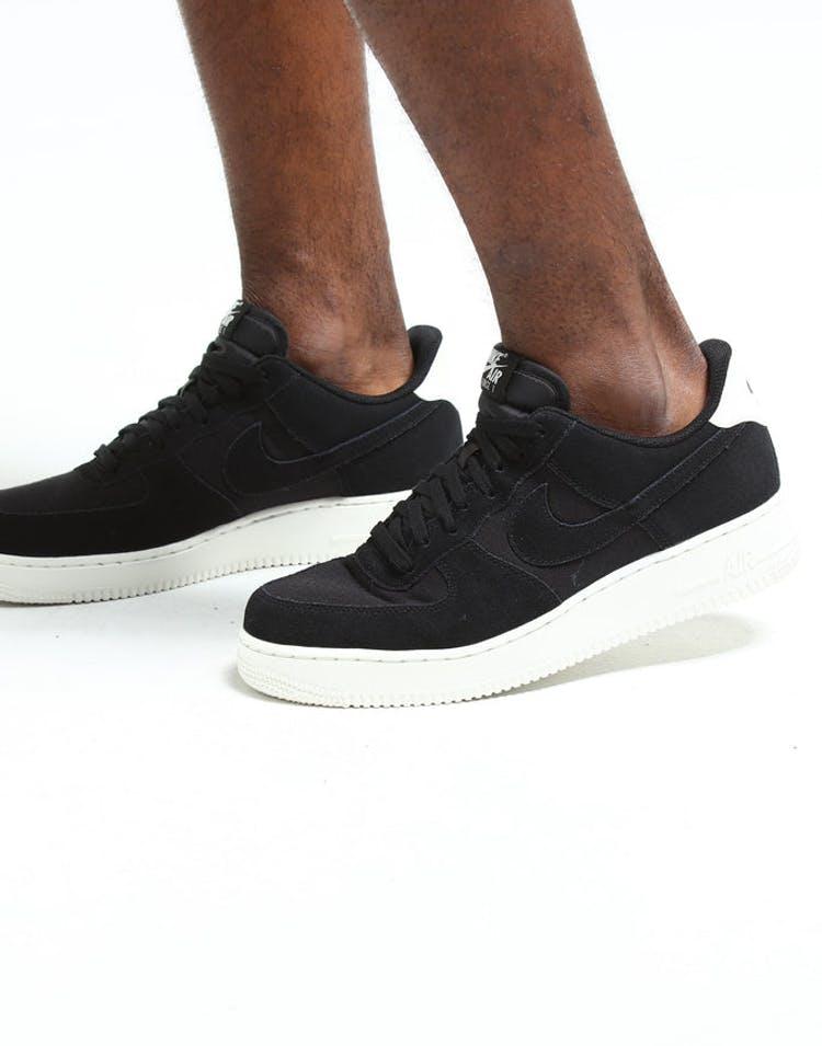 cheaper 1d35a d940b Nike Air Force 1  07 Suede Black Cream – Culture Kings