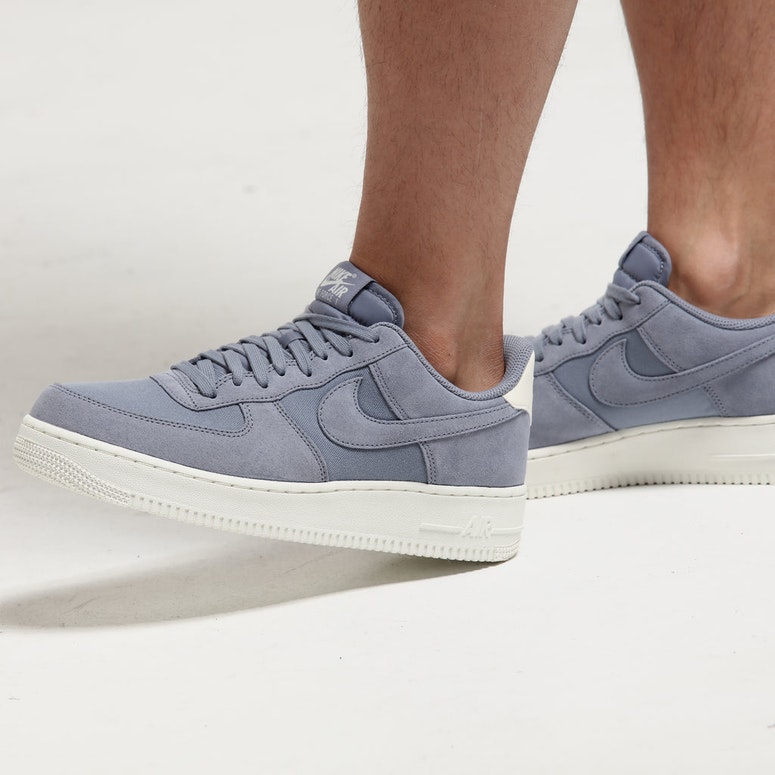 Nike Air Force 1 '07 Suede Slate Grey/Cream