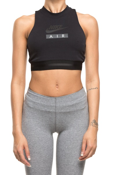 Nike Women's Sportswear Crop Top Black/Black/Black