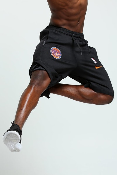 Nike New York Knicks Therma Flex Short Black/Orange