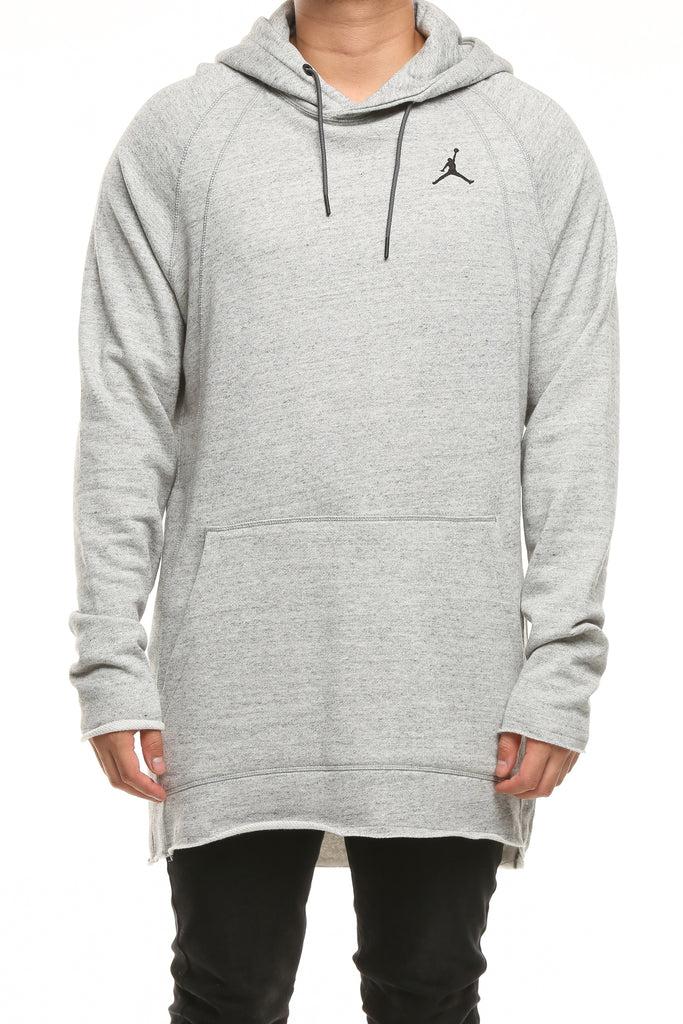 Lite Sportswear Heather Wings Hood Dark Grey Jordan cF1lKJT3