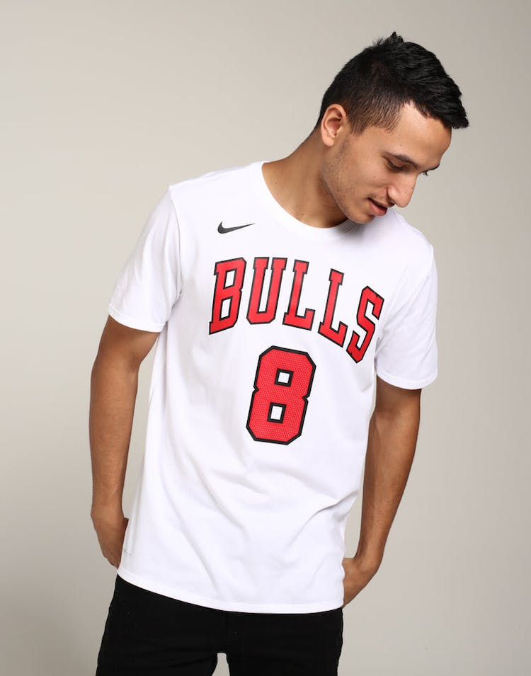 64b6abc79 Nike Chicago Bulls Zach LaVine #8 Dry Tee White – Culture Kings