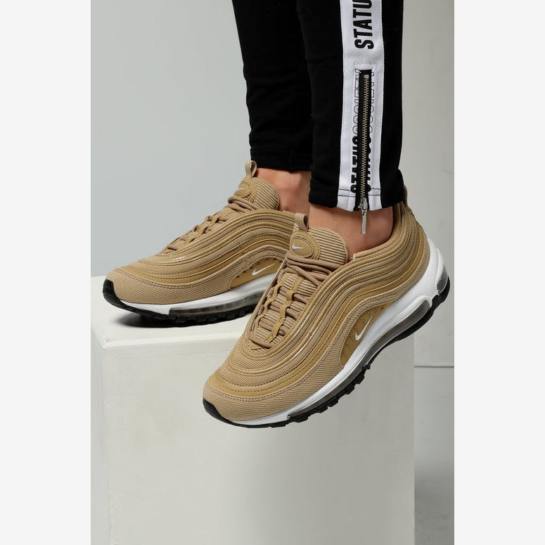 Nike Women s Air Max 97 Special Edition Beige White Black – Culture Kings 9a03d9ac6