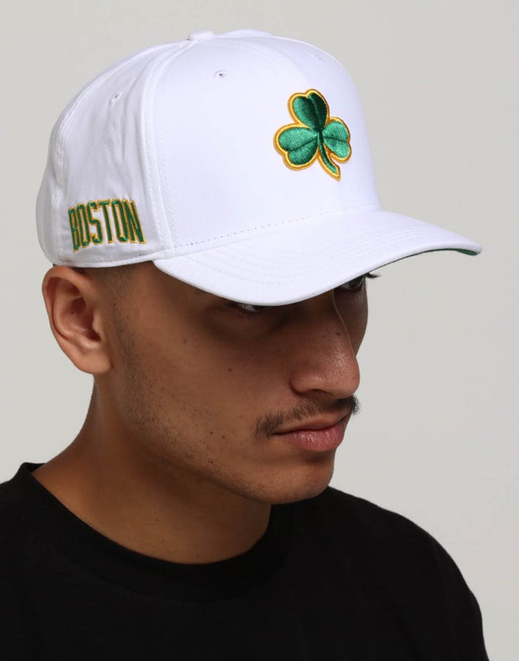 cd05e5a6cfa4e Nike Boston Celtics City Edition Dry Arobill Classic99 Snapback White  –  Culture Kings