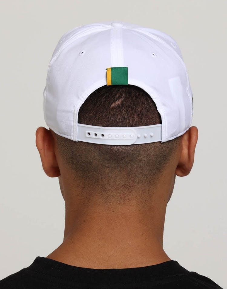 low priced fe4e4 a3f08 Nike Boston Celtics City Edition Dry Arobill Classic99 Snapback White Green