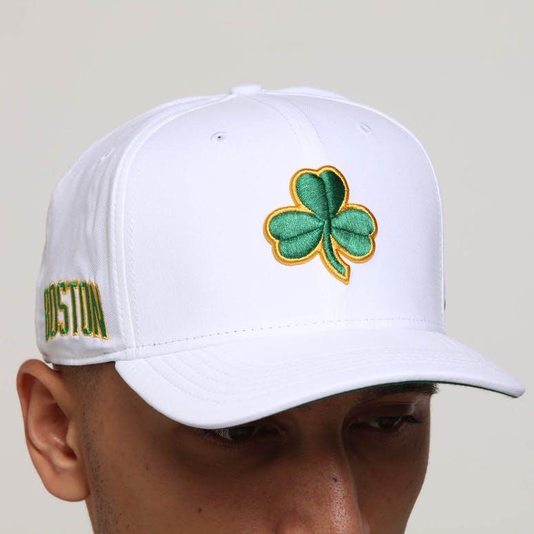 bf6375bcfcc982 Nike Boston Celtics City Edition Dry Arobill Classic99 Snapback White/Green