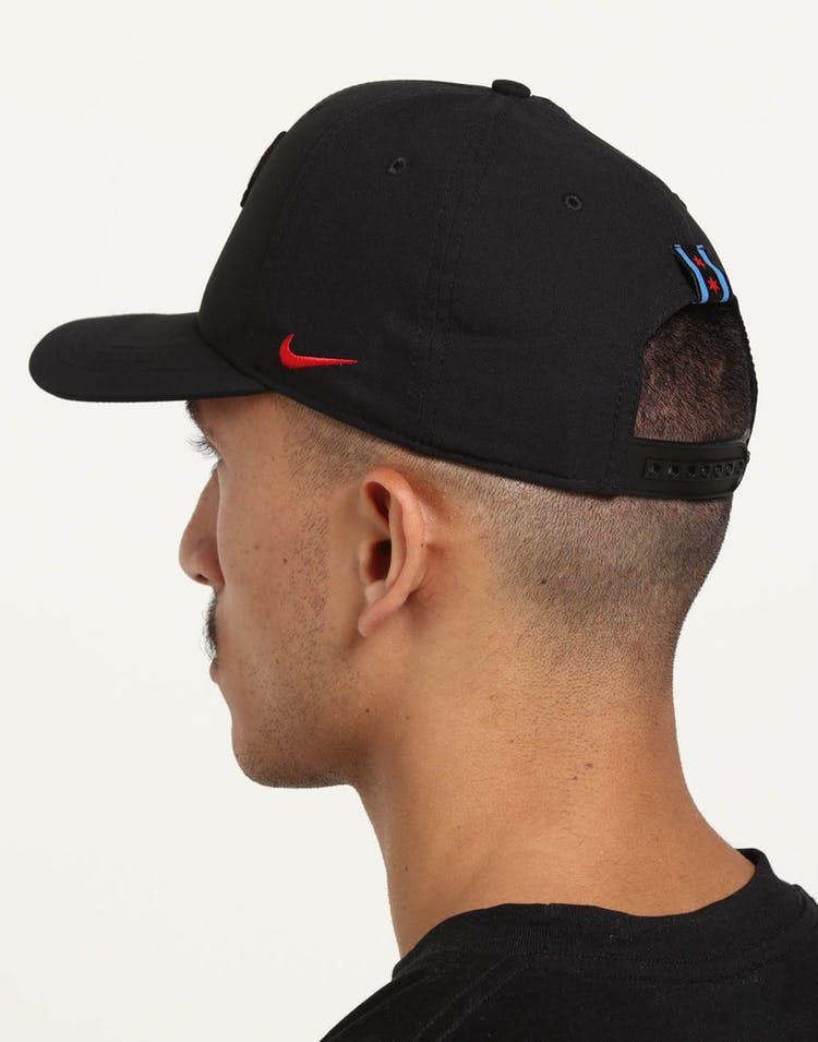 the best attitude e5aae da893 Nike Chicago Bulls City Edition Dry Arobill Classic99 Snapback Black B –  Culture Kings