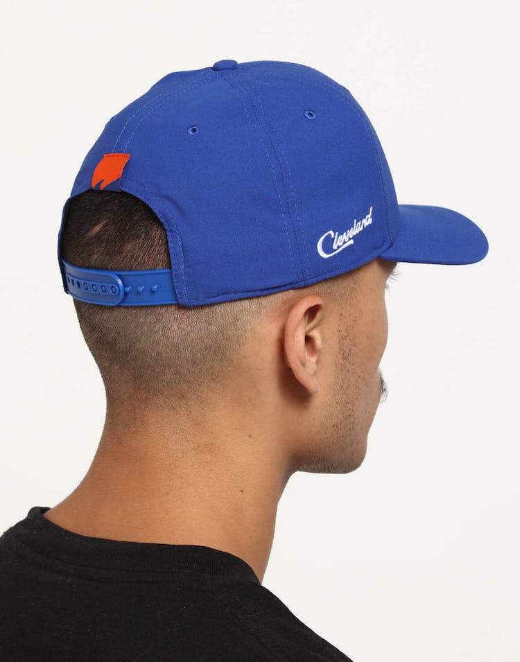 3c7b0a21222a Nike Cleveland Cavaliers City Edition Dry Arobill Classic99 Snapback  Blue Blue