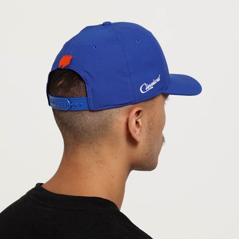 Nike Cleveland Cavaliers City Edition Dry Arobill Classic99 Snapback Blue  Blue 31147ad835bb