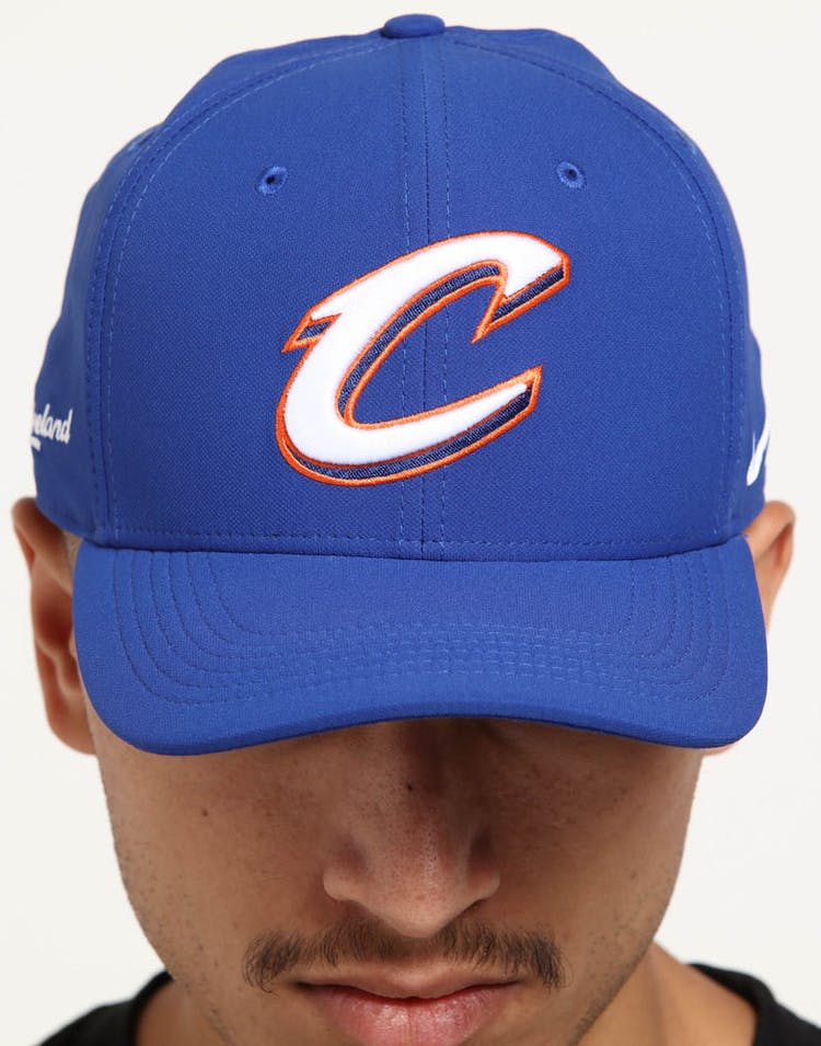 9b75b2cfffcde Nike Cleveland Cavaliers City Edition Dry Arobill Classic99 Snapback  Blue Blue