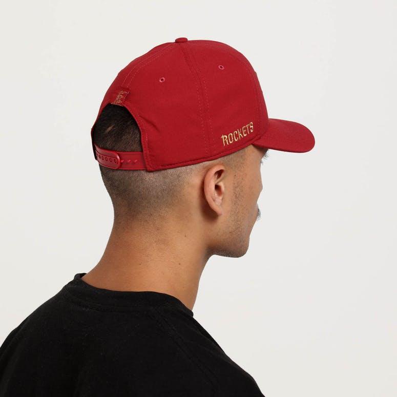 8a984e9190b Nike Houston Rockets City Edition Dry Arobill Classic99 Snapback Crimson