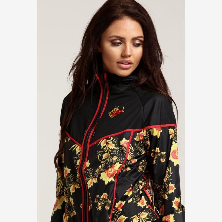 95ff3d8b78 Nike Women s Sportswear Windrunner Floral Black – Culture Kings
