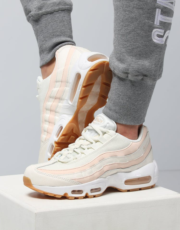 the latest 1b0f5 ef86a Nike Women's Air Max 95 OG Cream/White/Gum