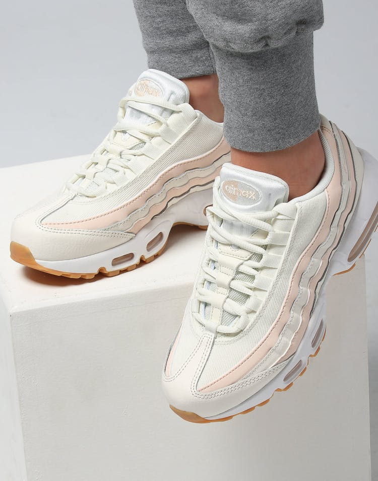 new style f0490 2f50a Nike Women s Air Max 95 OG Cream White Gum