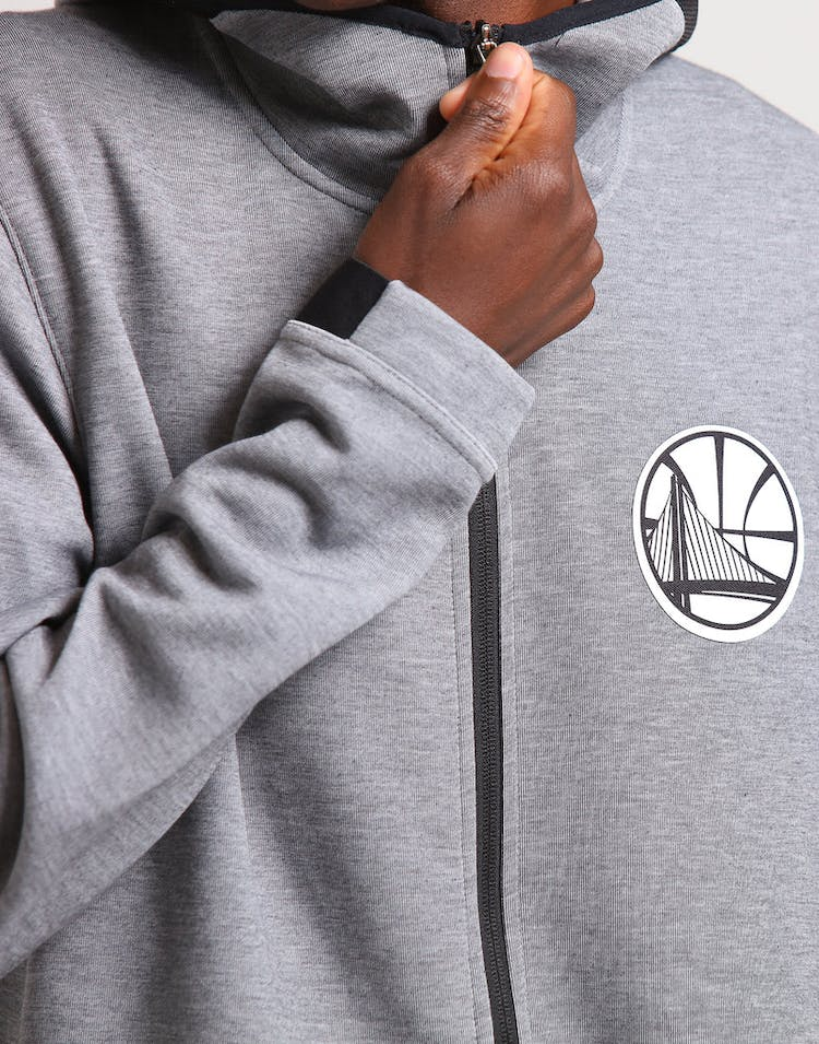 31060dcf4 Nike Golden State Warriors Dry Showtime Hoodie Heather/Black/White ...
