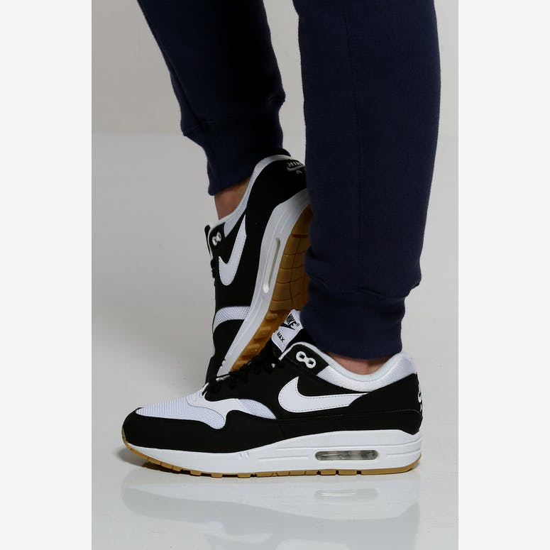buy popular 42bf8 d3a20 Nike Womens Air Max 1 BlackWhiteGum  319986 038 – Culture Ki