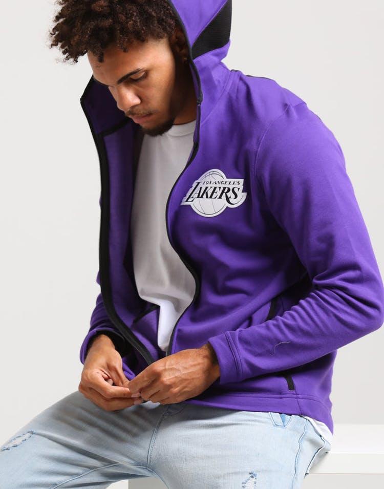 6baea88ef Nike Los Angeles Lakers Dry Showtime Hoodie Purple/Black/White – Culture  Kings