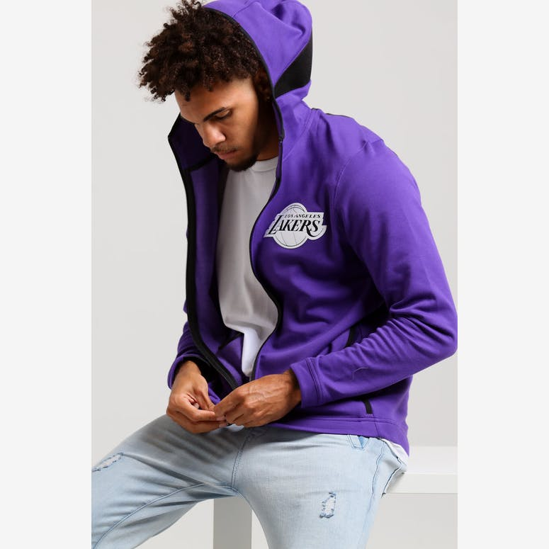Nike Los Angeles Lakers Dry Showtime Hoodie Purple Black White – Culture  Kings 5c69161f6