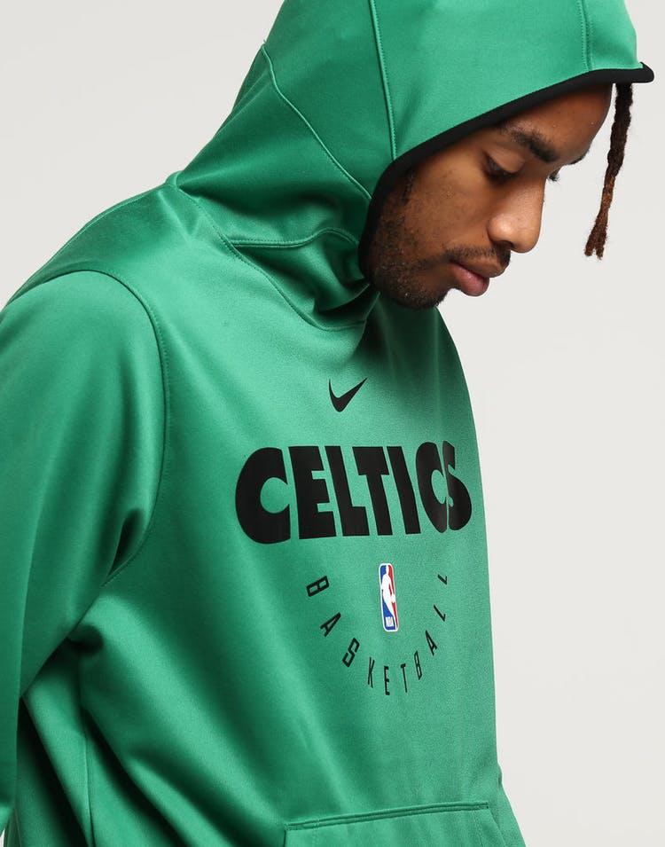 wholesale dealer 822f9 cbab7 Nike Boston Celtics Spotlight Hoodie Pull Over Clover/Black