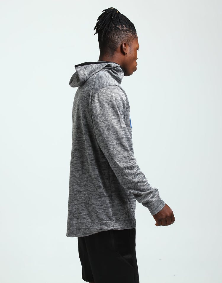 Nike New York Knicks Spotlight Hoodie Pull Over Carbon/Blue/Black