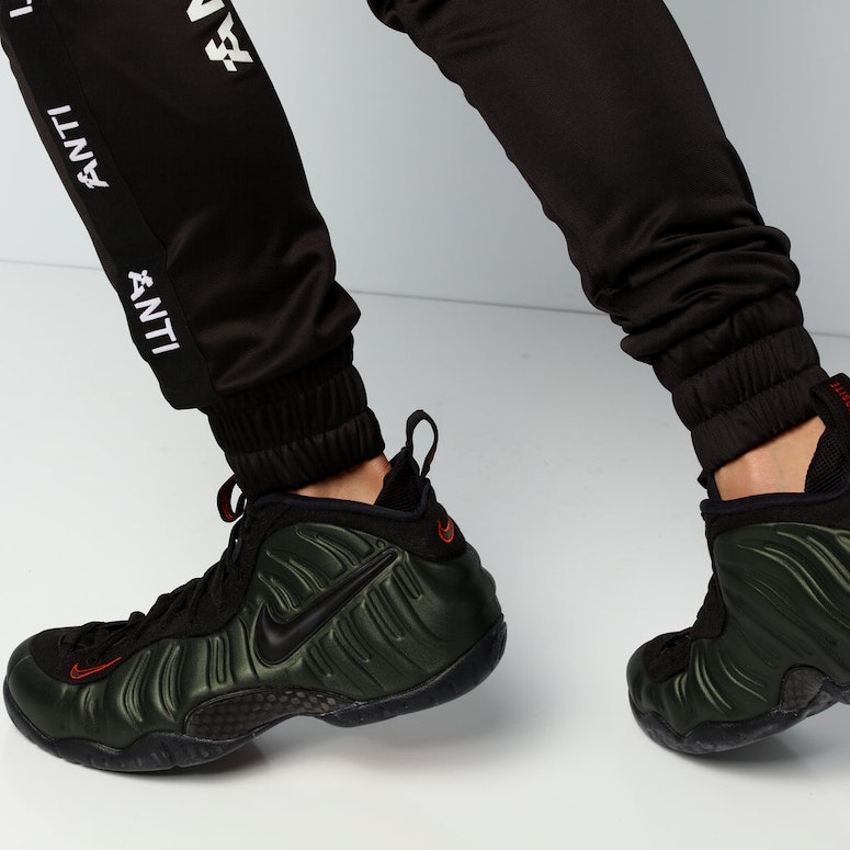 Nike Air Foamposite Pro Olive/Black/Orange