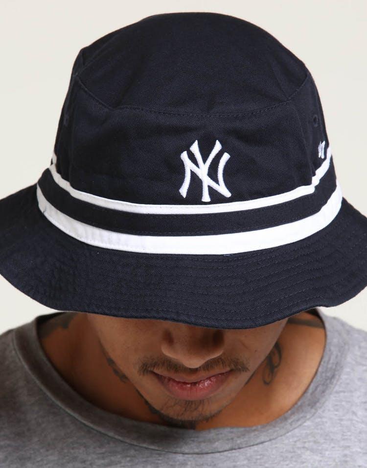 d92c7b6d1 47 Brand New York Yankees Knuckle Down Bucket Navy