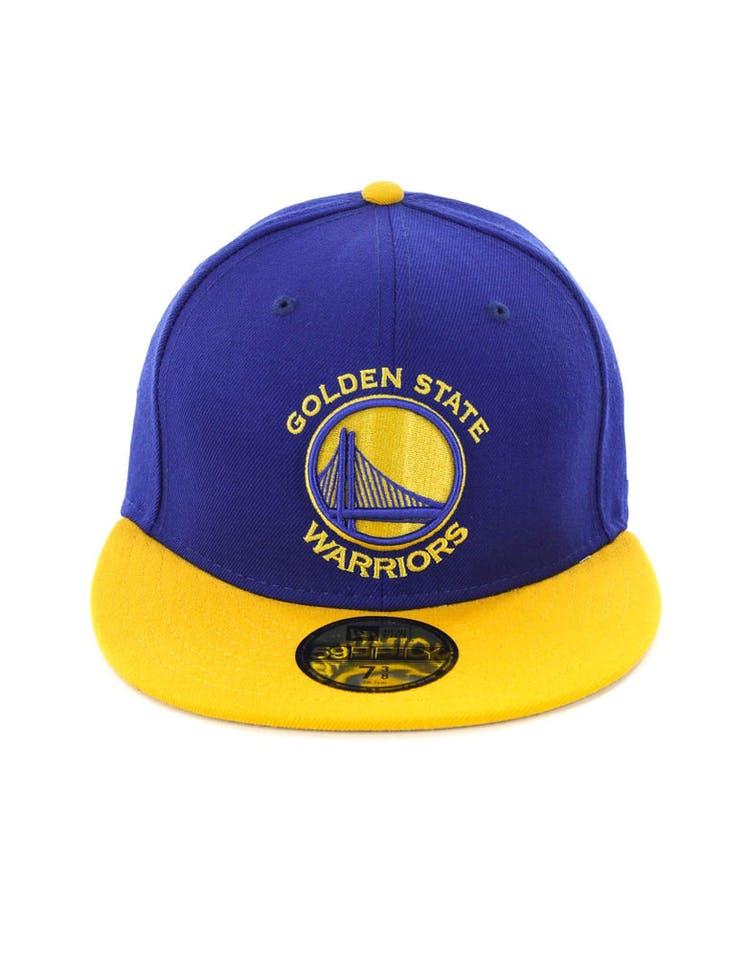 best service 986a6 fda29 New Era Golden State Warriors 59FIFTY Fitted Royal Yellow – Culture Kings